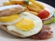 Egg & Bacon Ciabatta